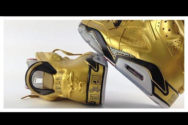 Air Jordan Vi 91 Champ Custom El Cappy Heel Detail 1