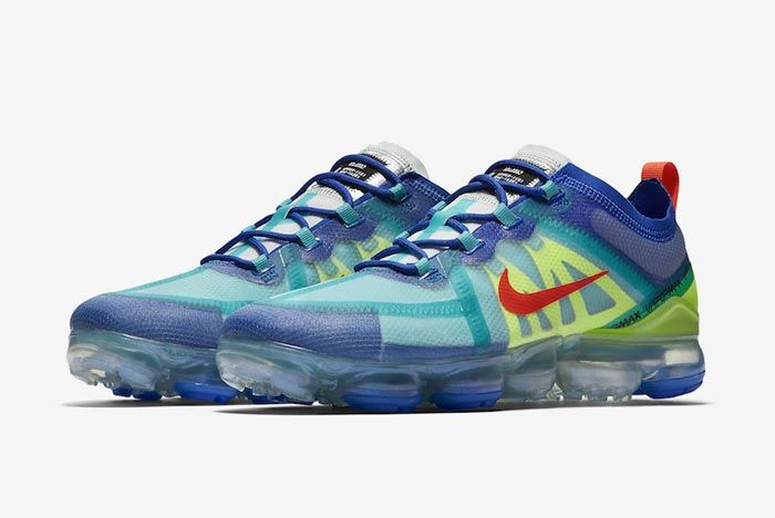 Nike Air Vapormax 2019 Multicolour Pair