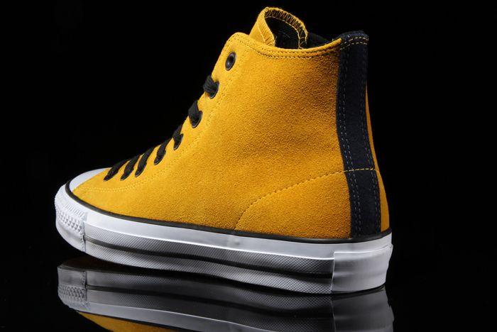Converse Ctas Pro Suede Hi Mustard5