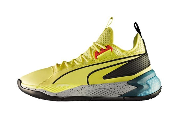Puma Uproar Spectra Yellow Lateral