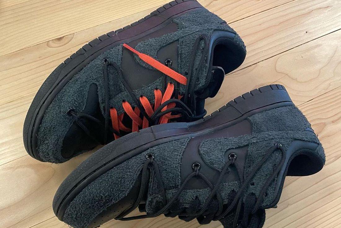Off-White x Nike Dunk Low Black