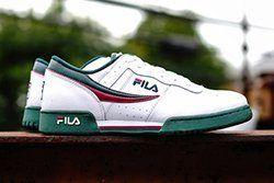 Fila Original Fitness White Green Thumb