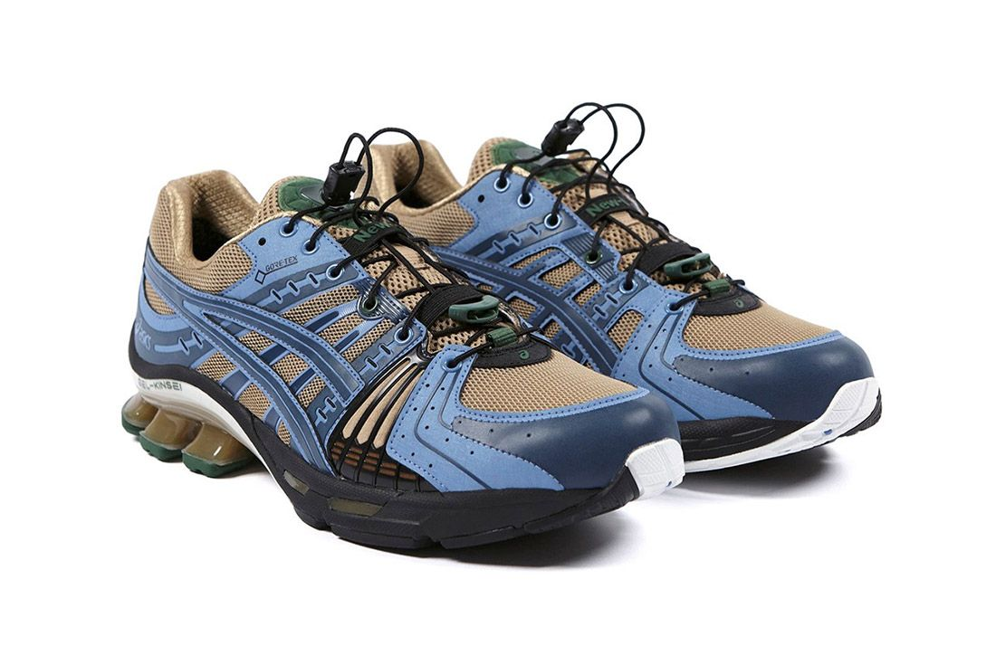 Affix Asics Gel Kinsei Gore Tex Front Angle