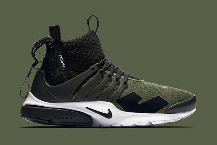 Acronym X Nike Air Presto Olive