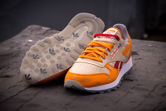 Gary Warnett Reebok Classic Leather