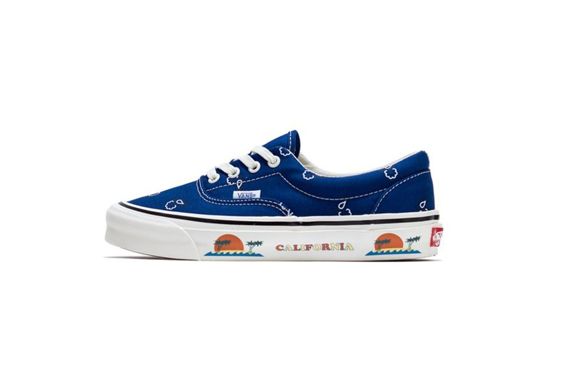 Vans OG Era LX Paisley Blue Left
