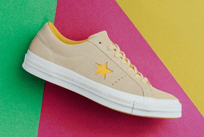 Converse One Star Suede Mint Pink Vanilla 5