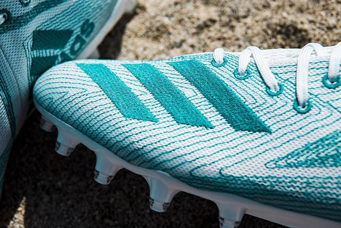 Adidas Parley University Of Miami Plastic Cleats 5