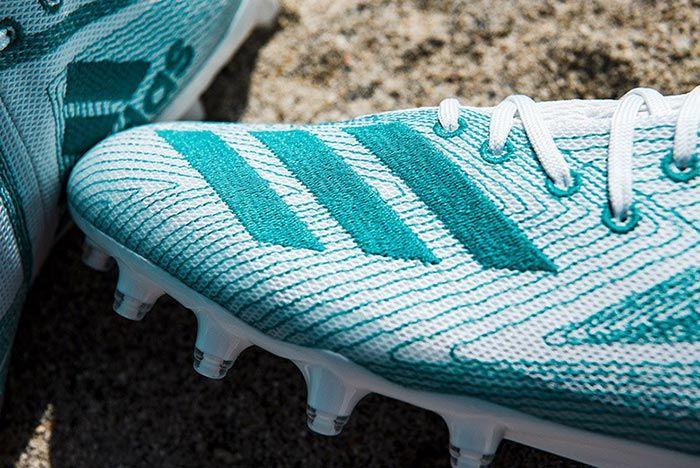 Adidas Parley University Of Miami Plastic Cleats 5