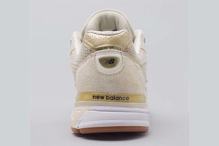 New Balance 990 V4 Off White 3