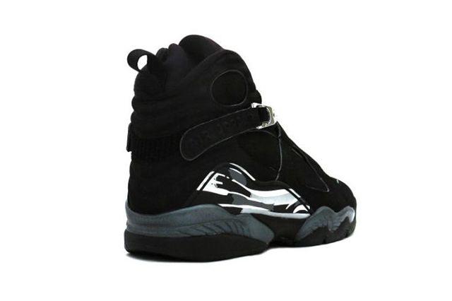 Air Jordan 8 Chrome Black