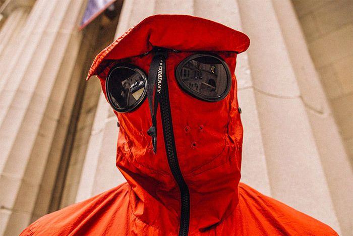 Cp Company Adidas Kamanda Goggle Jacket Small