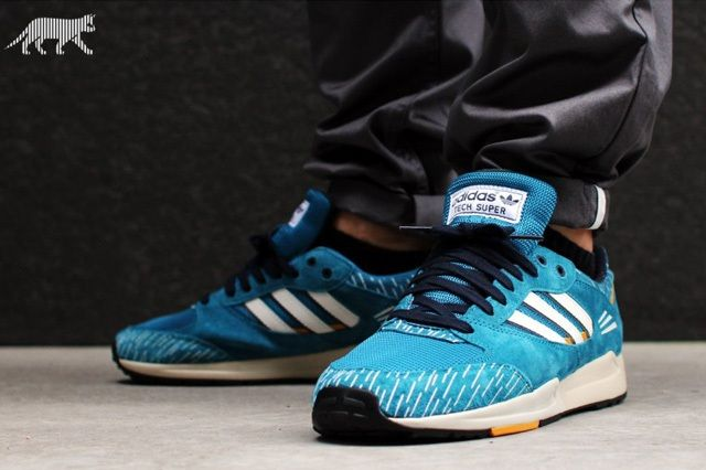 Adidas Tech Super Blue Her0 Legend Ink 2