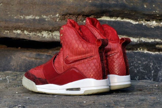 Jbf Customs Nike Air Yeezy 1 Red October 10