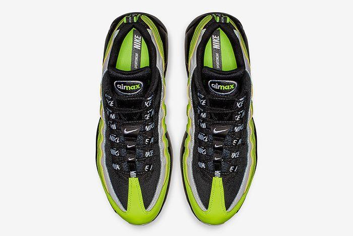 Nike Air Max 95 Volt Black 2