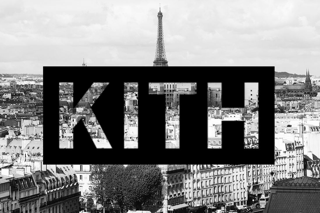 kith paris mock image