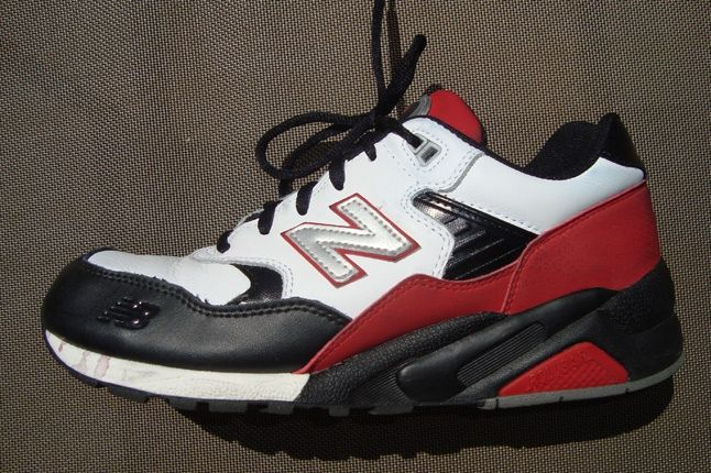 New Balance 580 Red Black 1