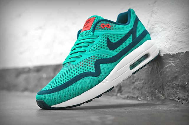 Nike Air Max 1 Breathe Turquoise Navy 1