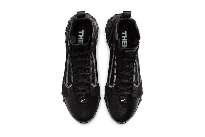 Nike React Ianga Black Light Aqua Anthracite Court Purple Av5555 002 Release Date Top Down