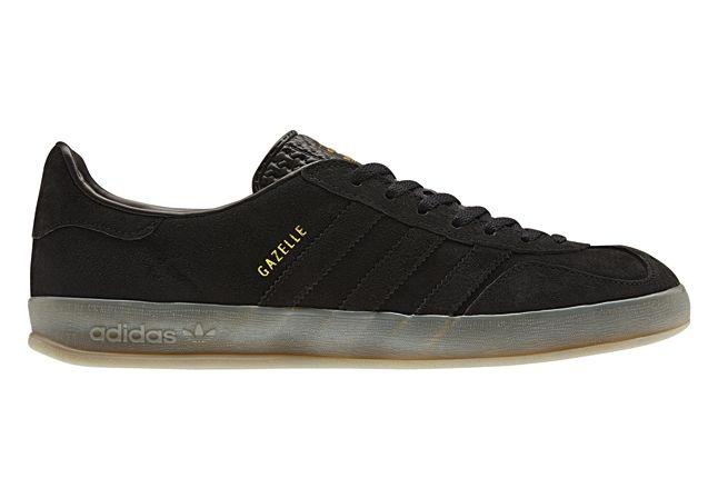 Adidas Gazelle Indoor Black Profile 1