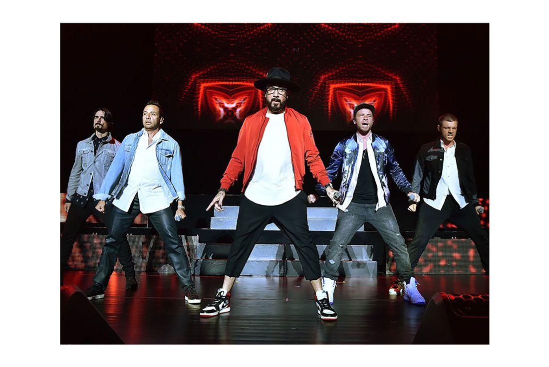 Backstreet Boys Blackk Toe 1S