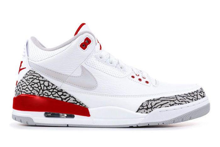 Air Jordan 3 Tinker White University Red Cj0939 100 Release Date