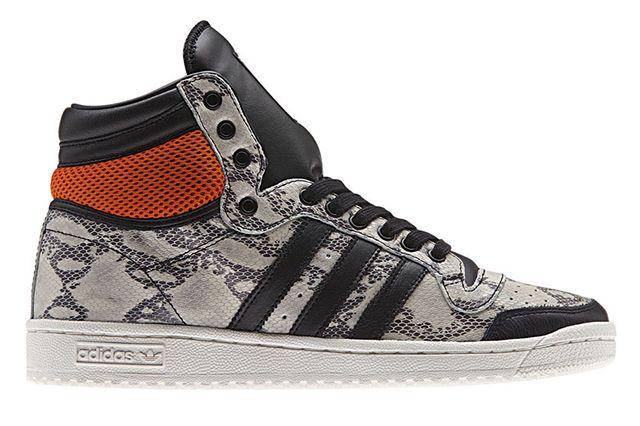 Adidas Originals Top Ten Hi Snake Lux Pack White 01