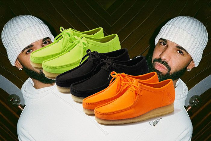 Octobers Very Own Ovo Clarks 2020 Wallabee Collection