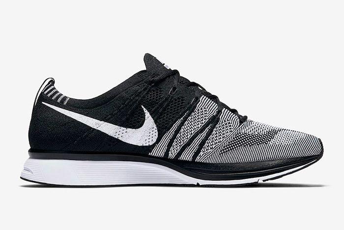 Nike Flyknit Trainer Oreo Black White 8