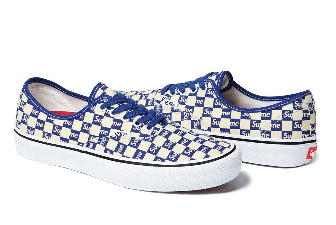 Supreme X Vans Checker Logo Pack 7