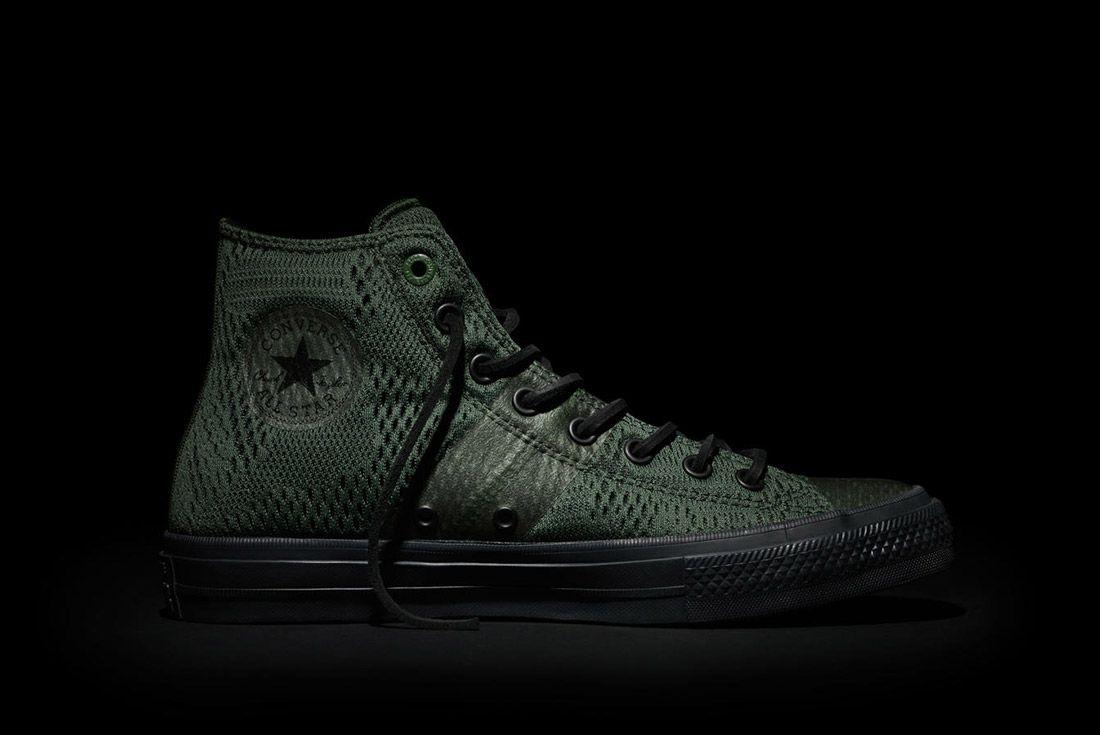 Converse Chuck Taylor All Star Ii Engineered Mesh Green 2