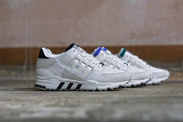 Adidas Originals Eqt Running Support 93 White Pack 7