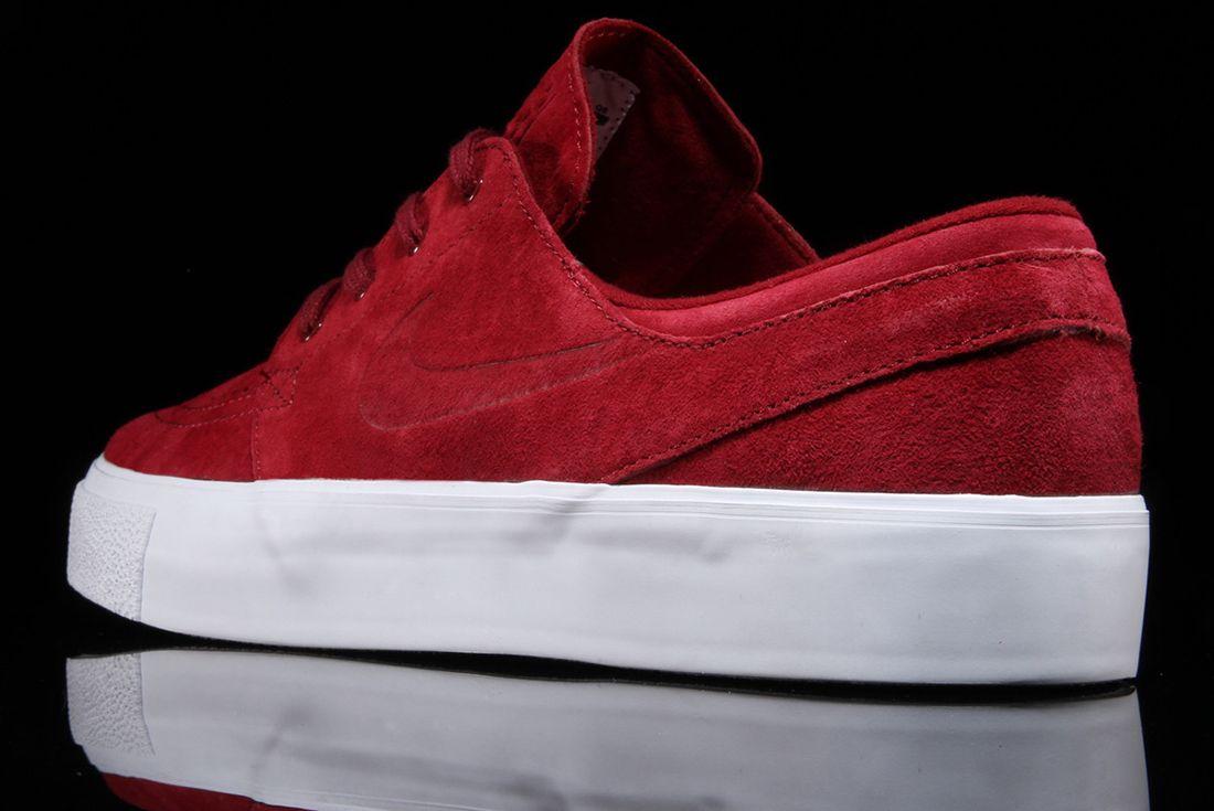 Nike Sb Zoom Janoski Premium Team Red1