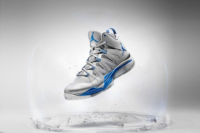 Jordan Super Fly 2 Grey Blue