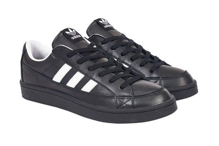Adidas Palace Campton Black Front Side 1