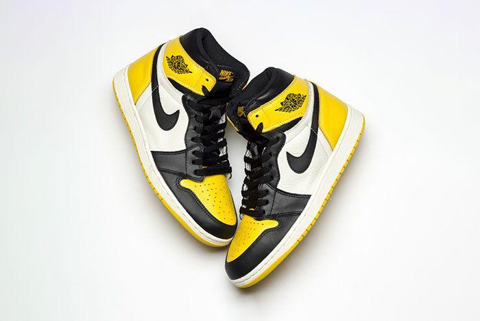 Air Jordan 1 Yellow Toe Ar1020 700 Release Date Pair3