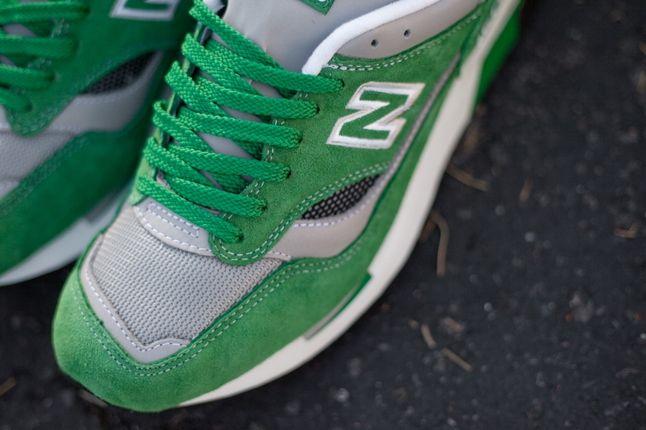 New Balance 1500 Elite Green Lace Detail 1