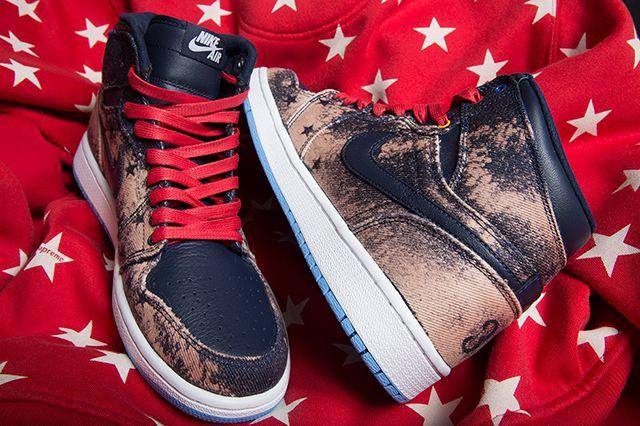 Air Jordan 1 4 Th Of July Custom 3