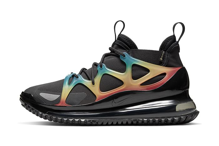 Nike Air Max 720 Horizon Black Multicolor Release Date Lateral