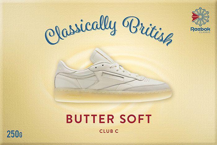 Reebok Classic Butter Soft Pack Club C