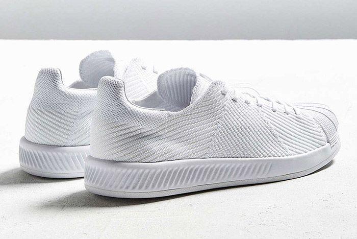 Adidas Superstar Bounce Primeknit Triple White 1