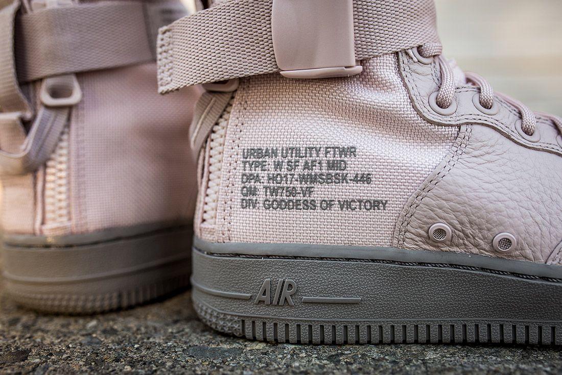 Nike Sf Air Force 1 Silt Red 1