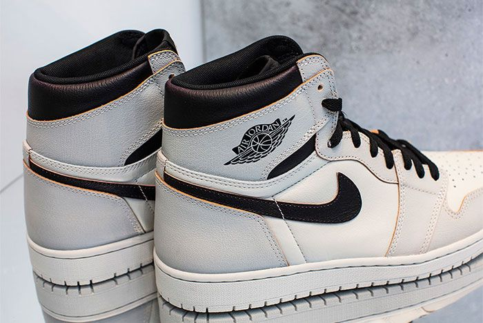 Nike Sb Air Jordan 1 Light Bone Heel