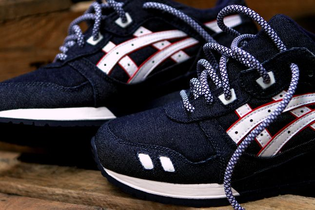 Ronnie Fieg Asics Gel Lyte Iii Selvedge Denim Detail 1