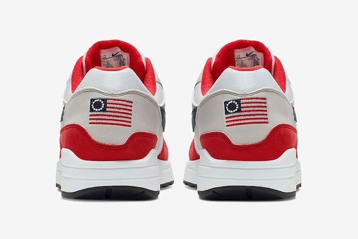 Nike Air Max 1 4Th Of July Cj4283 100 Release Date 5 Heel