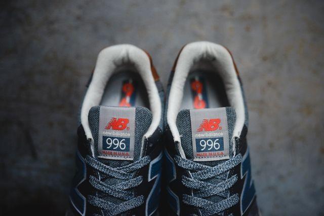 New Balance 996 Grey Navy 2