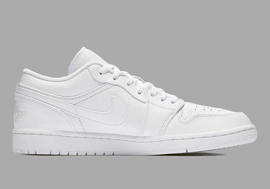Air Jordan 1 Low White 553558 111 6