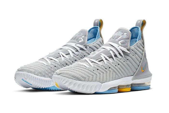 Nike Lebron 16 Mpls Three Quarter Shot