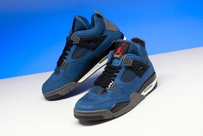 Eminem Jordan 4 Blue Release 2018 6