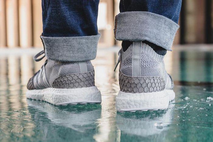 Pusha T X Adidas Eqt Ultra Boost Pk Grey Scale 8